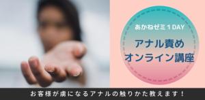 【あかねゼミ1DAY】アナル責め基本編