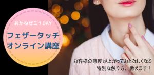 【あかねゼミ1DAY】フェザータッチ基本編